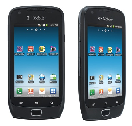 T-Mobile Samsung Exhibit 4G Android Smartphone
