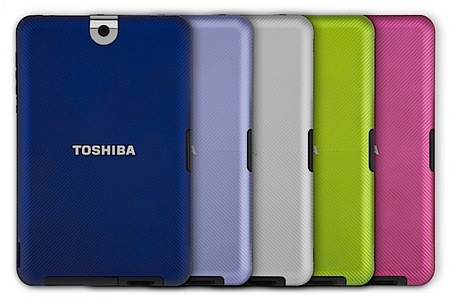 Toshiba Thrive Android 3.0 Tablet colors