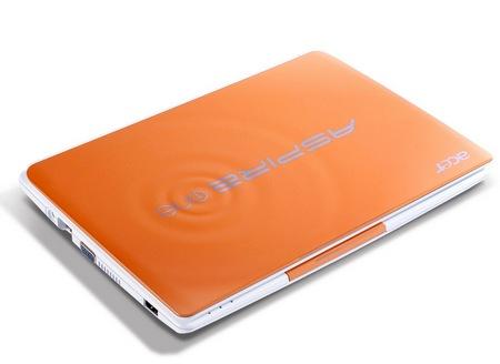 Acer Aspire One Happy 2 Color-Inspired Netbooks Papaya Milk