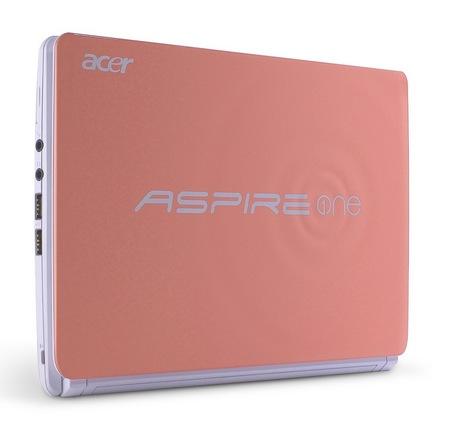 Acer Aspire One Happy 2 Color-Inspired Netbooks Strawberry Yogurt