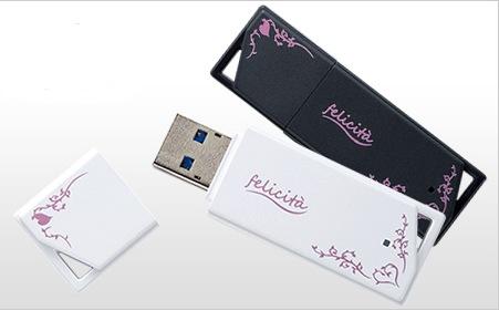 Buffalo RUF3-KW Felicita USB 3.0 Flash Drive