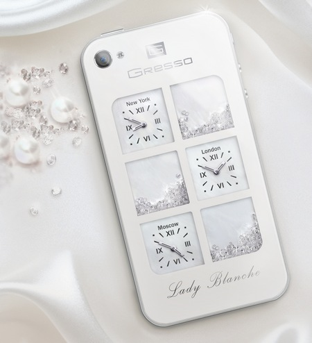 Gresso iPhone 4 Lady Blanche for Women 1