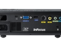 InFocus IN1110 and IN1112 Projectors Back