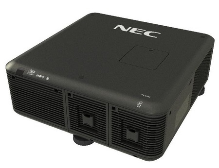 NEC PX750U Professional Installation Projector back