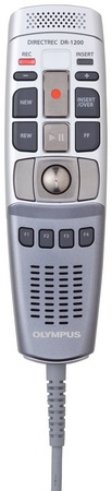 Olympus Directrec DR-1200 USB Microphone Devices For Stationary Professional Dictation