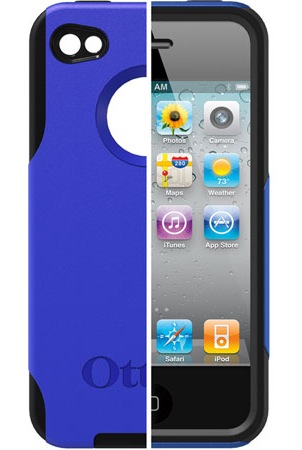 OtterBox Commuter Series Case for iPhone 4 now comes in Black Blue