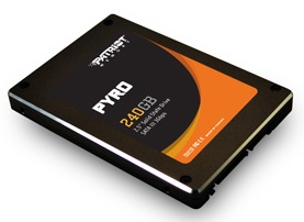 Patriot Memory Pyro Series SATA III SSD with SandForce SF-2281 Processor