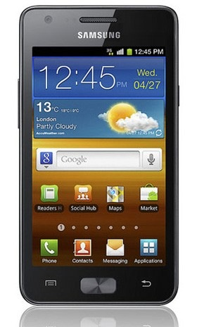 Samsung Galaxy R Z i9103 is Tegra 2 Version of the Galaxy S II