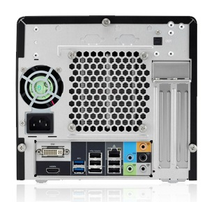 Shuttle XPC H3 6700P Mini PC with Sandy Bridge Core i5 i7 back