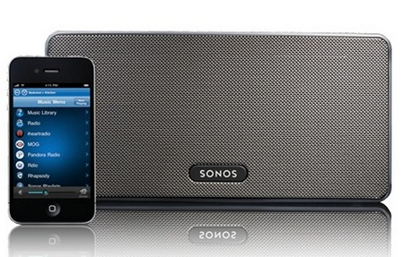 Sonos PLAY 3 Compact Wireless HiFi with iphone