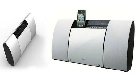 Sony CMT-CX5BiP Wall-mountable Hi-Fi System