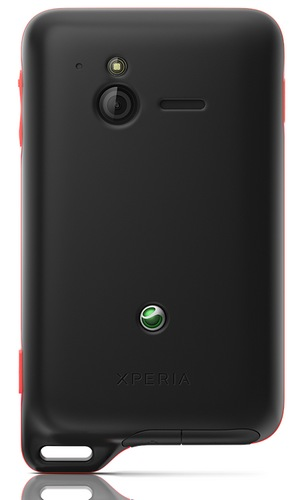 Sony Ericsson Xperia active Android Smartphone for Active Lifestyle back