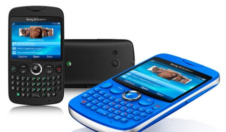 Sony Ericsson txt QWERTY Phone 2