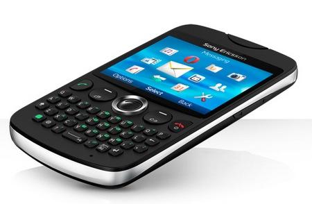 Sony Ericsson txt QWERTY Phone black