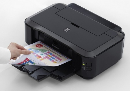 Canon PIXMA iP4920 Photo Inkjet Printer in use