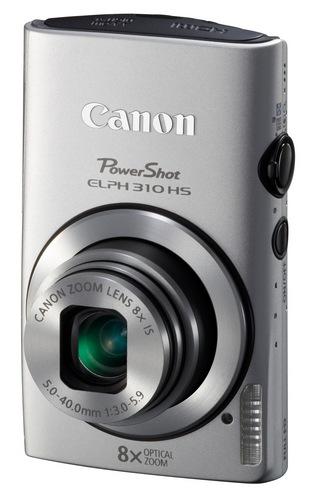 Canon PowerShot ELPH 310 HS 8x zoom compact digital camera silver