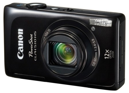 Canon PowerShot ELPH 510 HS 12x zoom compact digital camera black