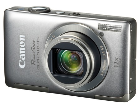 Canon PowerShot ELPH 510 HS 12x zoom compact digital camera silver