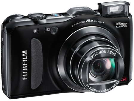 FujiFilm FinePix F600 EXR 15x Zoom Digital Camera black
