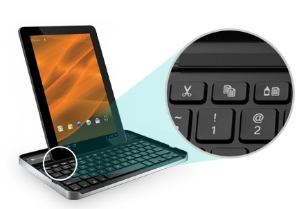 Logitech Keyboard Case for Galaxy Tab 10.1 1