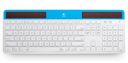Logitech Wireless Solar Keyboard K750 for Mac blue