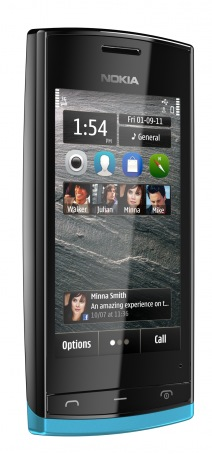 Nokia 500 Smartphone gets 1GHz CPU for Symbian Anna blue back