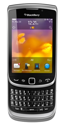 RIM BlackBerry Torch 9810 Smartphone with Slide-out Keyboard and Touchscreen 2