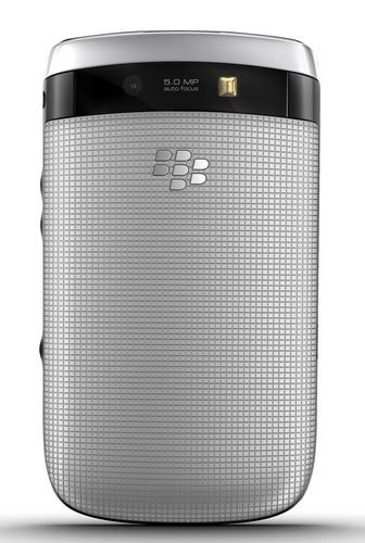 RIM BlackBerry Torch 9810 Smartphone with Slide-out Keyboard and Touchscreen back