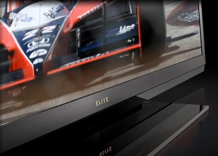 Sharp Elite LED LCD HDTVs bezel