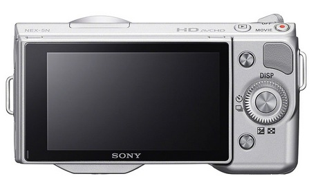 Sony NEX-5N Compact Interchangeable Lens Camera back