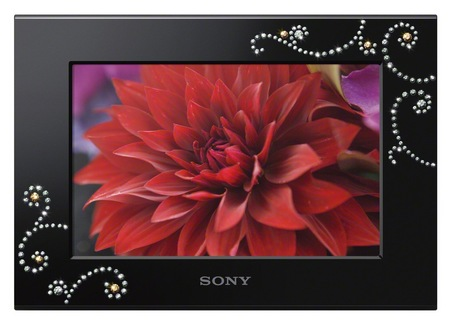 Sony S-Frame Gift Series DPF-C700BI digital photo frame