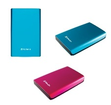 Verbatim Store n Go USB 3.0 Hard Drive Now Comes in Caribbean Blue and Hot Pink