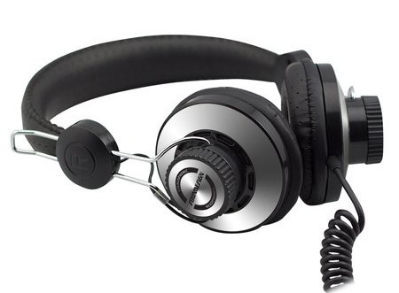 iHome SD63 Retro-style HiFi Headphones