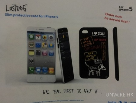 Bluetrek's PR Documents shows an iPhone 5 (Not only case)