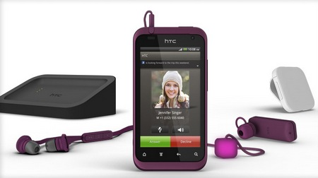 HTC Rhyme Android Smartphone with accessories
