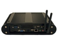 Habey BIS-6564 Fanless Embedded System with Dual Core Atom and NVIDIA ION