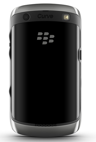 RIM BlackBerry Curve 9350, 9360 and 9370 Smartphones with BlackBerry 7 OS back