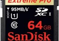 SanDisk Extreme Pro 64GB UHS-I SDXC Memory Card