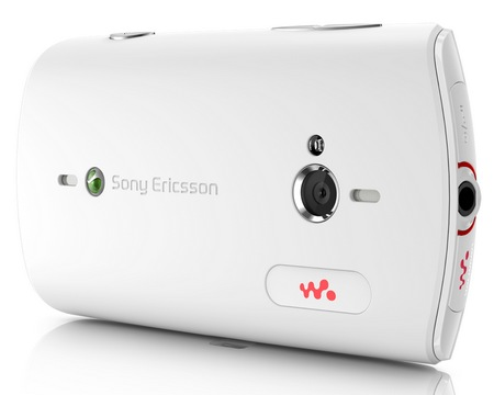 Sony Ericsson Live with Walkman Android Phone white