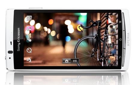 Sony Ericsson Xperia arc S Android Smartphone landscape