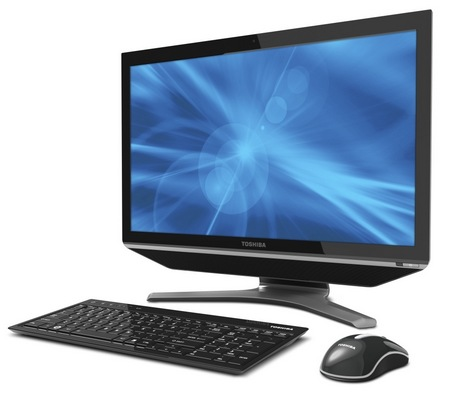 Toshiba DX735 Multitouch Touchscreen All-in-one PC
