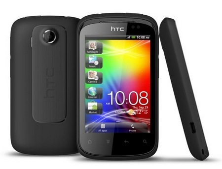 HTC Explorer Affordable Smartphone Metallic Black