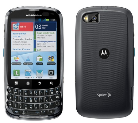 Motorola ADMIRAL Android Smartphone with Sprint Direct to Connect 1
