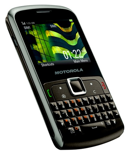 Motorola MOTOKEY Mini EX108 QWERTY Phone