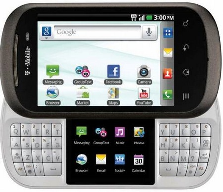 T-Mobile LG DoublePlay Android Phone with Split QWERTY Keyboard and Dual Touchscreens 1