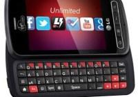 Virgin Mobile LG Optimus Slider QWERTY Smartphone
