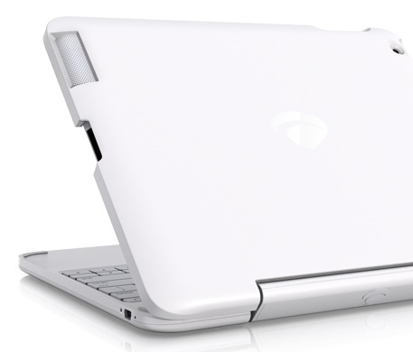 ClamCase All-in-One Keyboard Case and Stand for iPad 2 back