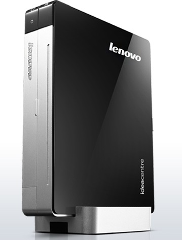 Lenovo IdeaCentre Q180 is the World's Smallest Desktop PC with add-on optical drive