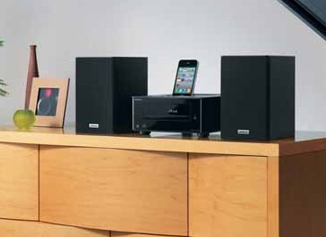 Onkyo CS-345 CD HiFi System with iPod iPhone Dock