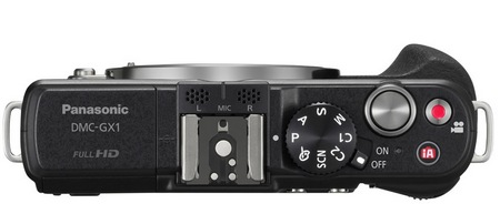 Panasonic LUMIX DMC-GX1 Micro Four Thirds Camera top